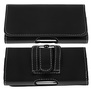 Avis Avizar Etui ceinture Noir pour Smartphone de taille maximale 137 x 67 mm