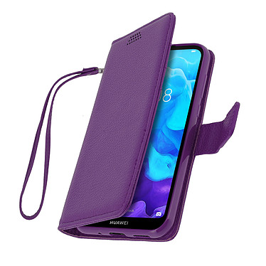 Avizar Etui folio Violet pour Huawei Y5 2019 , Honor 8S pas cher