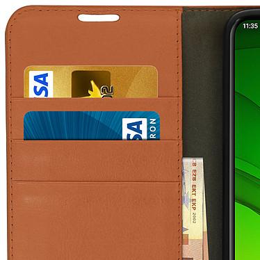 Avis Avizar Etui folio Camel pour Motorola Moto G7 , Motorola Moto G7 Plus