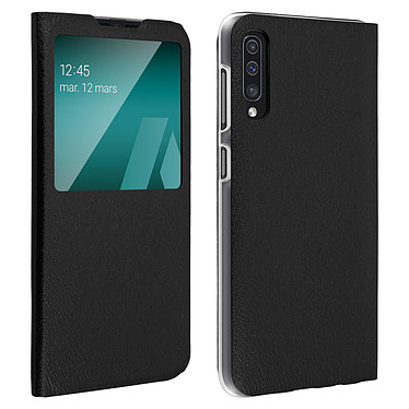 Avizar Etui folio Noir pour Samsung Galaxy A50 , Samsung Galaxy A30s Etui folio Noir Samsung Galaxy A50 , Samsung Galaxy A30s