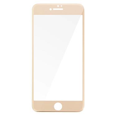 Avizar Film verre trempé Dorée pour Apple iPhone 7 Plus , Apple iPhone 8 Plus Film verre trempé Dorée Apple iPhone 7 Plus , Apple iPhone 8 Plus