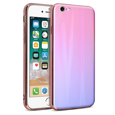 Avizar Coque Rose Collection Aurora pour Apple iPhone 7 , Apple iPhone 8 pas cher