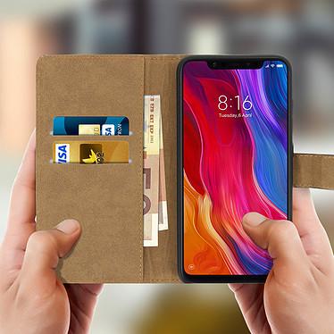 Acheter Avizar Etui folio Noir pour Xiaomi Mi 8 , Xiaomi Mi 8 Pro