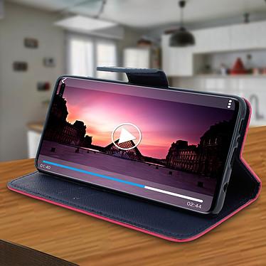 Avis Avizar Etui folio Fuchsia pour Samsung Galaxy S10 Plus