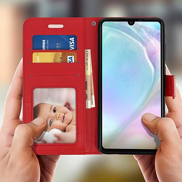 Acheter Avizar Etui folio Rouge pour Huawei P30