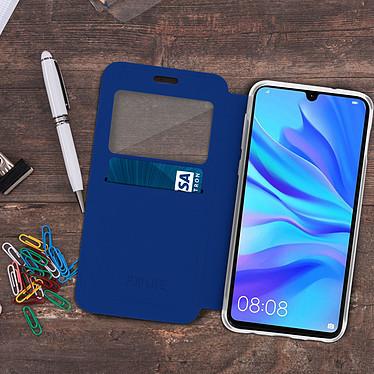 Acheter Avizar Etui folio Bleu pour Huawei P30 Lite , Honor 20S , Huawei P30 Lite XL