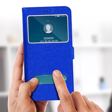 Acheter Avizar Etui folio Bleu pour Honor 7A , Huawei Y6 2018