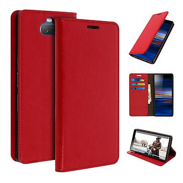 Avizar Etui folio Rouge pour Sony Xperia 10 pas cher