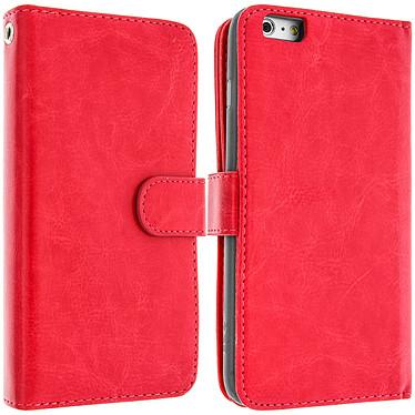 Avizar Etui folio Rouge pour Apple iPhone 6 Plus , Apple iPhone 6S Plus Etui folio Rouge Apple iPhone 6 Plus , Apple iPhone 6S Plus