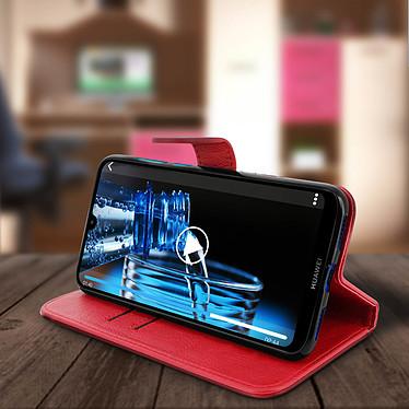 Avis Avizar Etui folio Rouge pour Huawei Y7 2019
