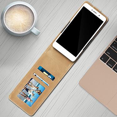 Avis Avizar Etui à clapet Beige pour Compatibles avec Smartphones de 5,5 à 6,0 pouces