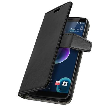 Avizar Etui folio Noir pour HTC Desire 12 pas cher
