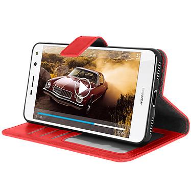 Avis Avizar Etui folio Rouge pour Huawei Y6 2017