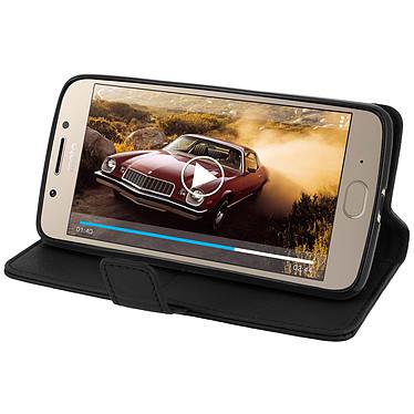 Avis Avizar Etui folio Noir pour Motorola Moto G5 , Lenovo Moto G5