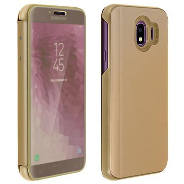 Avizar Etui folio Dorée pour Samsung Galaxy J4 Etui folio Dorée Samsung Galaxy J4