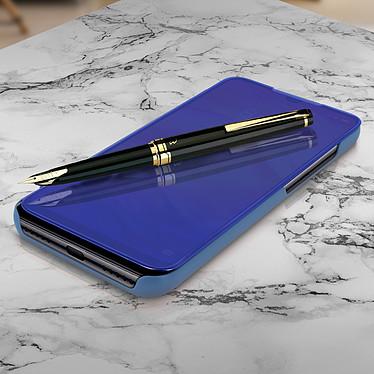 Avizar Etui folio Bleu pour Xiaomi Redmi Note 7 pas cher