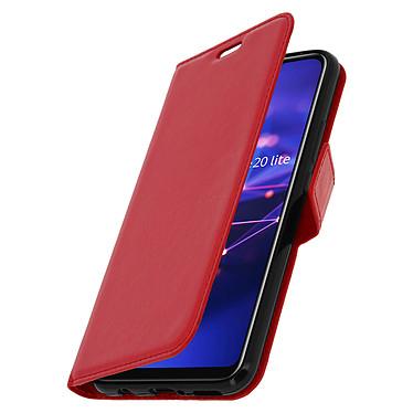 Avizar Etui folio Rouge pour Huawei Mate 20 lite pas cher