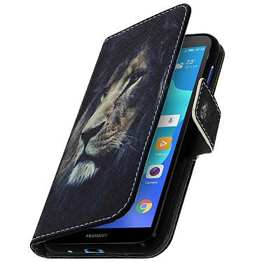 Avizar Etui folio Bleu Nuit pour Huawei Y5 2018 , Honor 7S Etui folio Bleu Nuit Huawei Y5 2018 , Honor 7S
