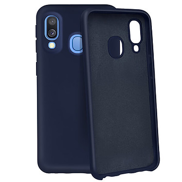 Avizar Coque Bleu Nuit pour Samsung Galaxy A40 pas cher