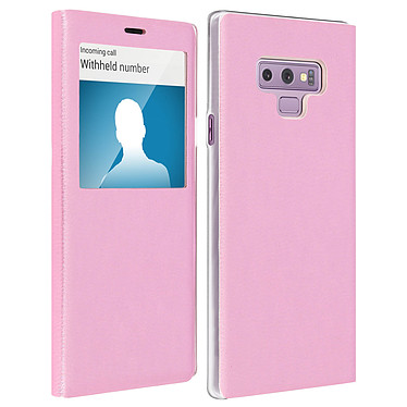 Avizar Etui folio Rose pour Samsung Galaxy Note 9 Etui folio Rose Samsung Galaxy Note 9