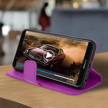 Avis Avizar Etui folio Violet pour Huawei P Smart