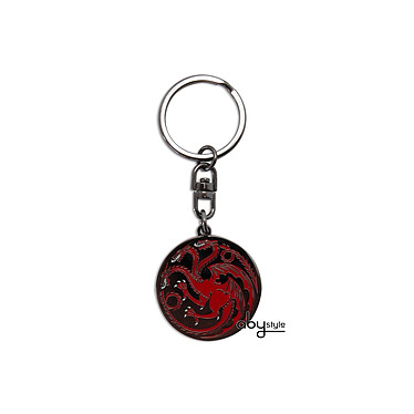 GAME OF THRONES - Porte-clés Targaryen GAME OF THRONES - Porte-clés Targaryen