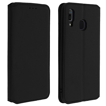 Avizar Etui folio Noir pour Samsung Galaxy A30 Etui folio Noir Samsung Galaxy A30