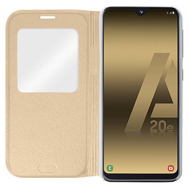 Avis Avizar Etui folio Dorée pour Samsung Galaxy A20e