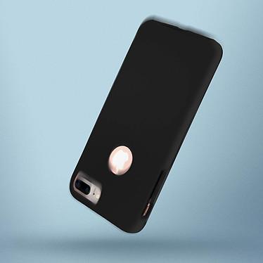 Avizar Coque Noir pour Apple iPhone 7 Plus , Apple iPhone 8 Plus pas cher
