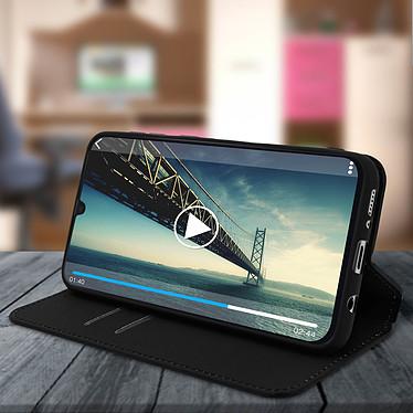 Avis Avizar Etui folio Noir pour Samsung Galaxy A30