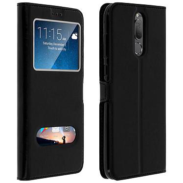 Avizar Etui folio Noir pour Huawei Mate 10 Lite pas cher