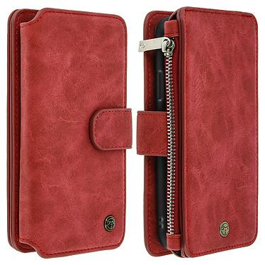 Avizar Etui folio Rouge pour Apple iPhone XR Etui folio Rouge Apple iPhone XR