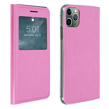 Avizar Etui folio Rose pour Apple iPhone 11 Pro Max Etui folio Rose Apple iPhone 11 Pro Max