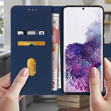 Acheter Avizar Etui folio Bleu pour Samsung Galaxy S20 Plus