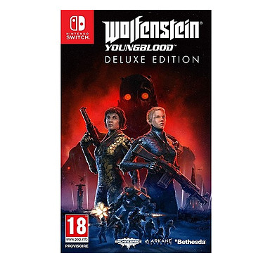 Wolfenstein YoungBlood (SWITCH) Jeu SWITCH Action-Aventure 18 ans et plus