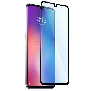 Avizar Film verre trempé Noir pour Xiaomi Mi 9 SE Film verre trempé Noir Xiaomi Mi 9 SE