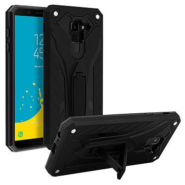 Avizar Coque Noir Série Phantom pour Samsung Galaxy J6 pas cher