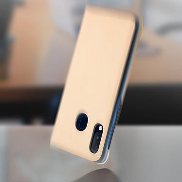 Avis Avizar Etui folio Dorée Porte-Carte pour Samsung Galaxy A20e