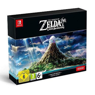 The Legend of Zelda Link s Awakening Edition Limitee (SWITCH) Jeu SWITCH Action-Aventure 7 ans et plus