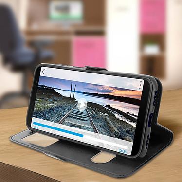 Acheter Avizar Etui folio Noir pour Asus Zenfone Max M1 ZB555KL