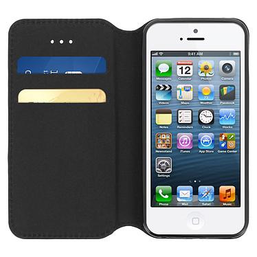 Acheter Avizar Etui folio Noir pour Apple iPhone 5 , Apple iPhone 5S , Apple iPhone SE