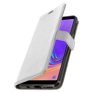 Avizar Etui folio Blanc pour Samsung Galaxy A7 2018 pas cher