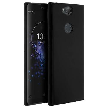 Avizar Coque Noir pour Sony Xperia XA2 Plus pas cher