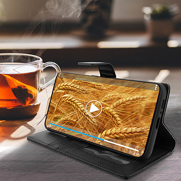 Avis Avizar Etui folio Noir pour Samsung Galaxy A80