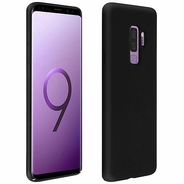 Avizar Coque Noir Semi-rigide pour Samsung Galaxy S9 Plus Coque Noir semi-rigide Samsung Galaxy S9 Plus