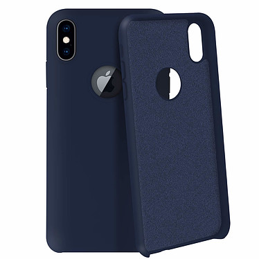 Avizar Coque Bleu Nuit pour Apple iPhone XS Max pas cher