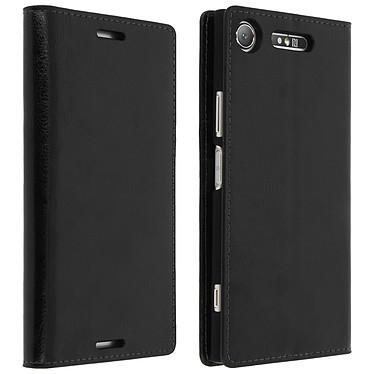 Avizar Etui folio Noir pour Sony Xperia XZ1 pas cher