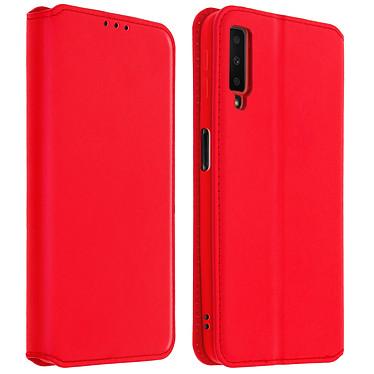 Acheter Avizar Etui folio Rouge pour Samsung Galaxy A7 2018