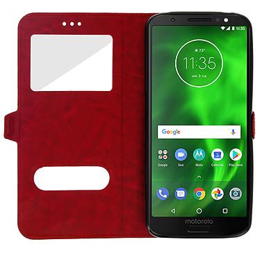 Avis Avizar Etui folio Rouge pour Motorola Moto G6