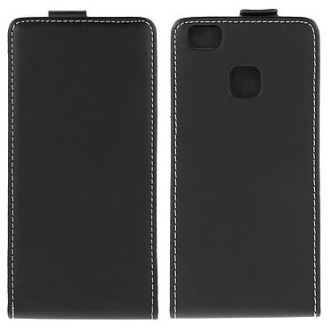 Avizar Etui à clapet Noir pour Huawei P9 Lite pas cher
